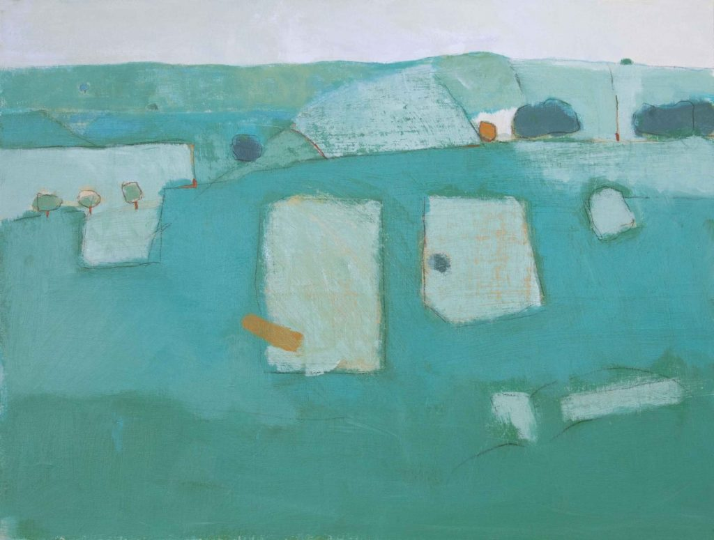 165. Cranbourne Chase 2014 61x48cm acrylic on canvas - David O'Connor